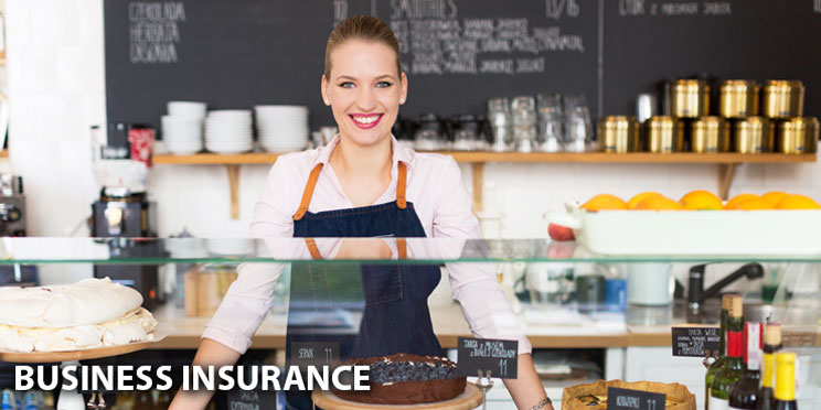 Business Insurance - Couple at Stores